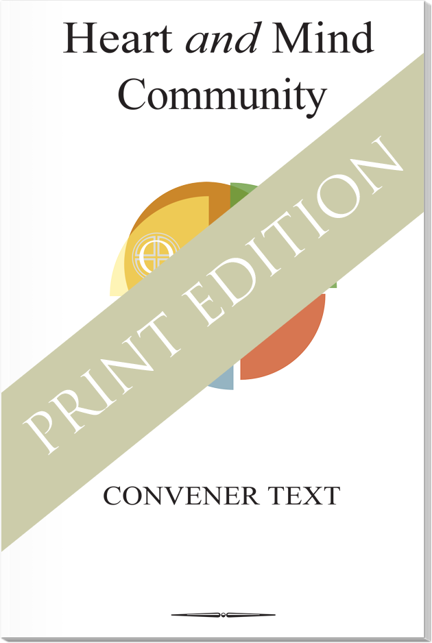Heart and Mind Community Convener Text Print Edition
