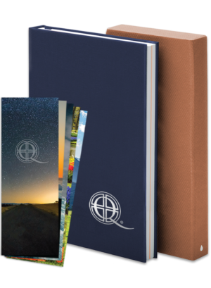 Q Notebook & Prayer Card Bundle