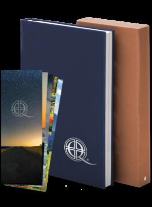 Q Notebook & Prayer Card Bundle