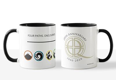Quadratos 20th Anniversary Mug